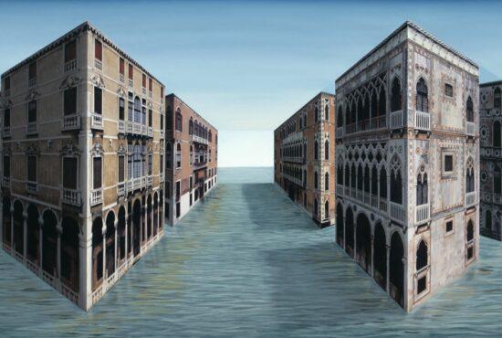 Patrick Hughes - Grand Canals