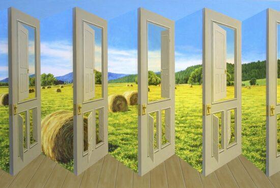 Patrick Hughes - Doors Etcetera