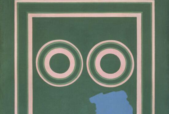 Bernard Cohen painting displayed at Tate Britain