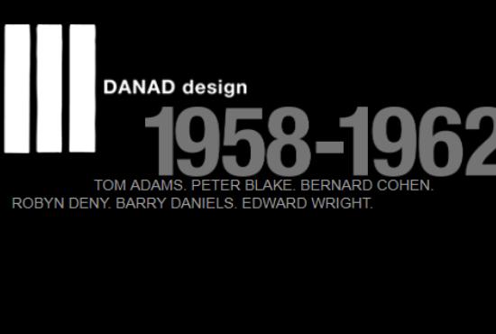 DANAD Design 1958-1962 - Featuring Bernard Cohen