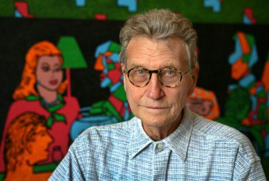 Derek Boshier Q&A with Paul Gorman