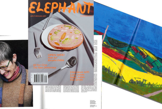 Elephant Magazine's Emily Steer interviewed Lucy Jones for the magazine's Summer issue.
