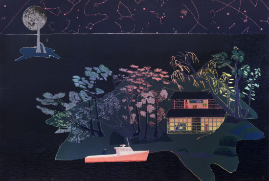 Tom Hammick - Lunar Voyage featured in The Guardian