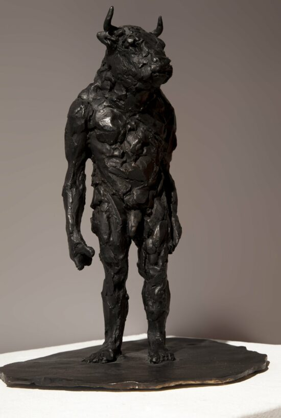 Green Island Commission - Maquette 4 (Standing Minotaur)