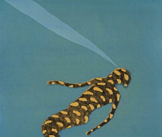 Monsieur Salamander (yellow)