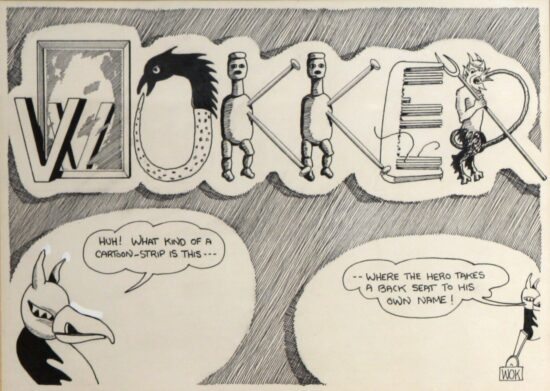 Wokker (Huh, what kind of cartoon strip is this..)