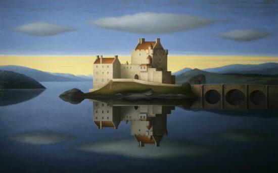Eilean Donan Castle - Blue Sky
