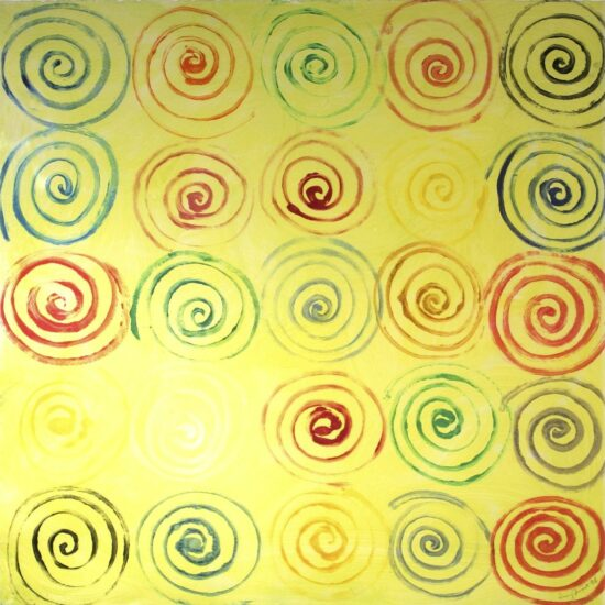 Mono Spirals for Yellow