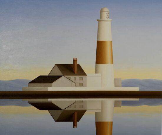 Lighthouse (Gold Stripe)