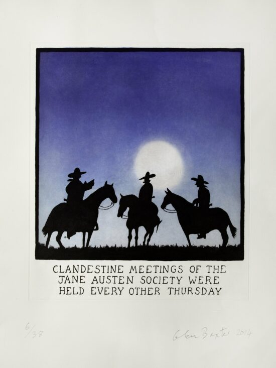 Clandestine Meetings of the Jane Austen Society Were Held Every Other Thursday