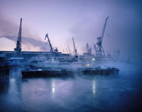 Untitled 15, Murmansk Harbour, Northern Russia