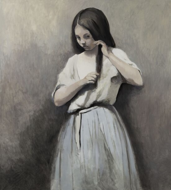 Girl from the Corot painting 2