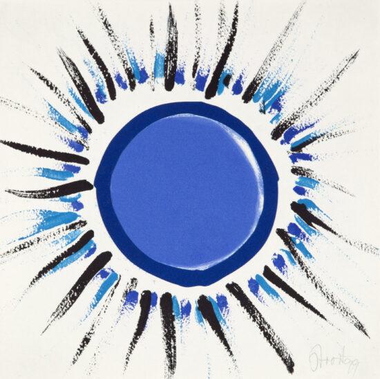 Orchard Sunbursts (blue)