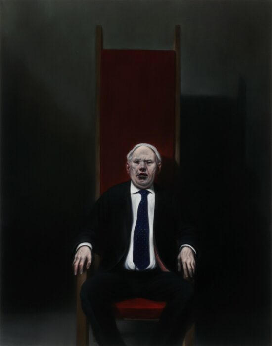 Man In A High-Backed Chair