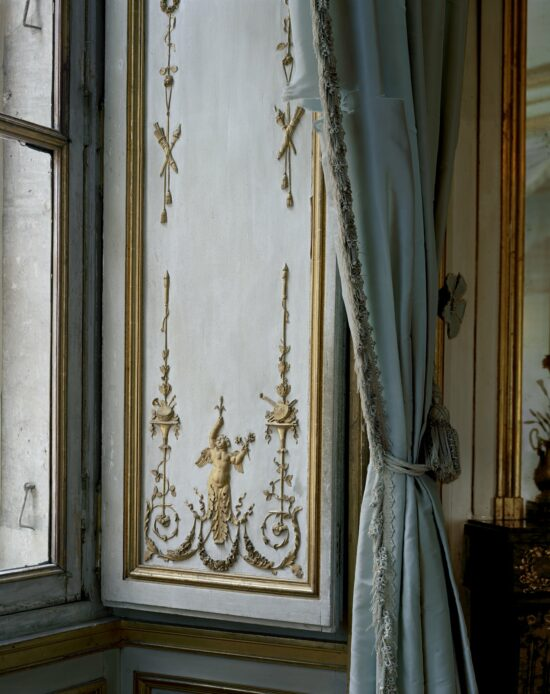 La Méridienne, Detail of Boiseries and Rideaux #1