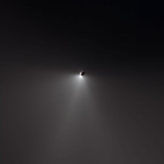 Comet Tempel 1 After Projectile Impact (Outgoing View), Deep Impact, July 4, 2005