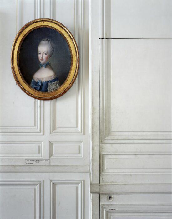 Marie-Antoinette de Lorraine-Habsbourg, by Jean-Baptiste Charpentier, 1770. Première antichambre du Dauphin, Corps Central – R.d.C.