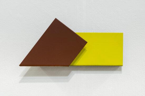 Brown Yellow Postcard