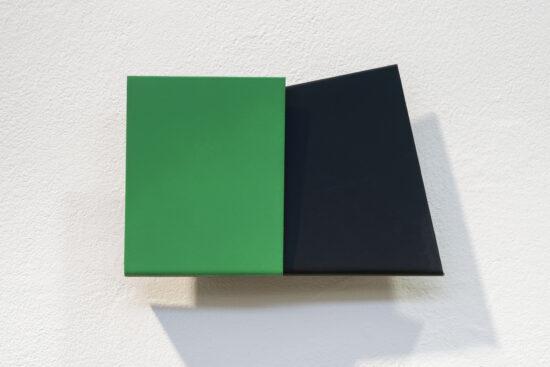 Green Black Postcard