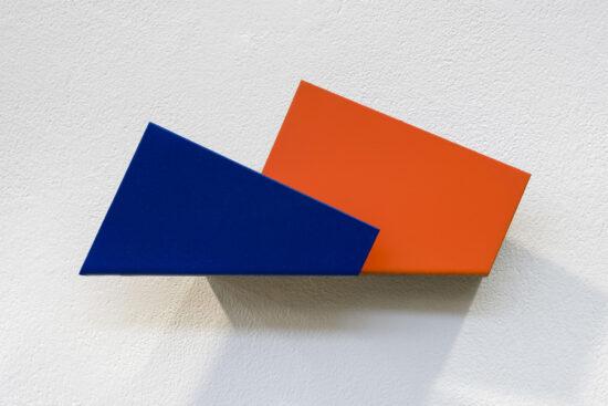 Blue Orange Postcard