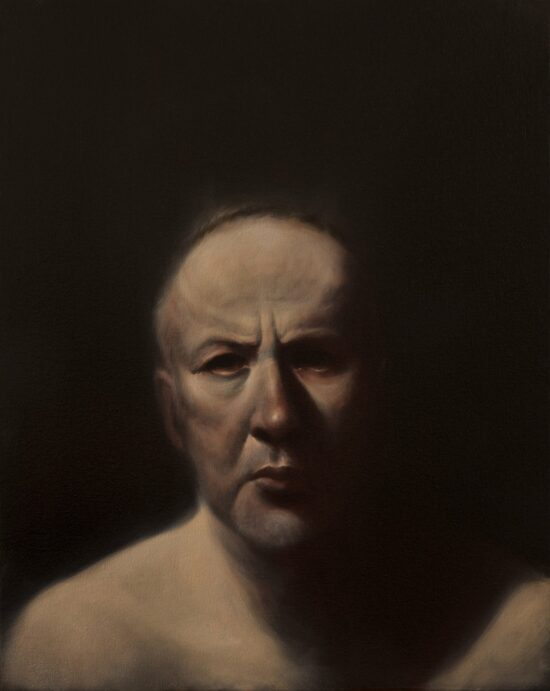 Self Portrait With Bare Shoulders