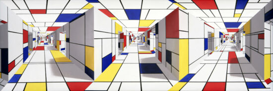 All-out Mondrian