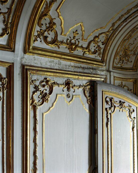 Boiserie detail, Salon d'Angle (Salon de Jeu) de Madame du Barry, Corps Central - 2ème étage.