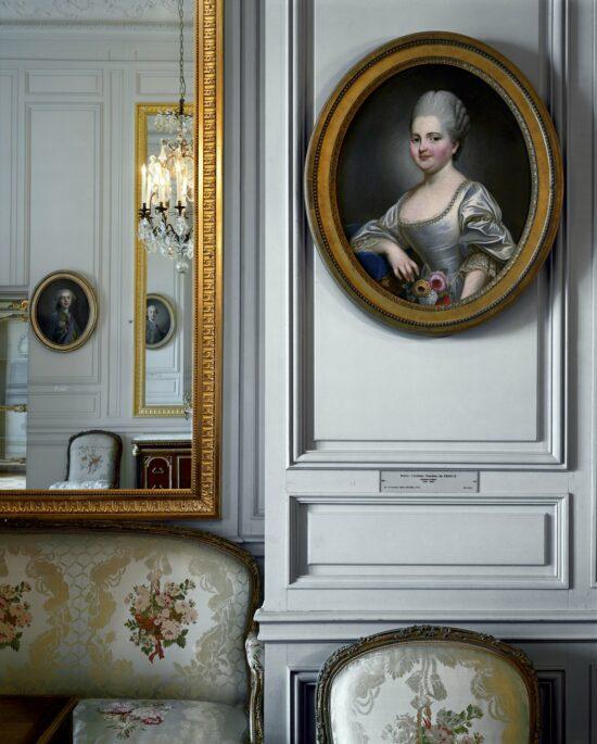 Marie-Clotilde-Xavière de France, dite Madame Clotilde, artist unknown, 1773. Cabinet intérieur de Madame Adélaïde, Corps Central – R.d.C.