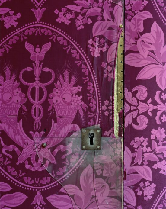 Versailles, Attique du Midi, Detail of Door and Keyhole #1