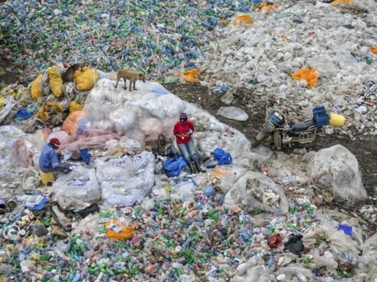 Dandora Landfill #3, Plastics Recycling, Nairobi, Kenya