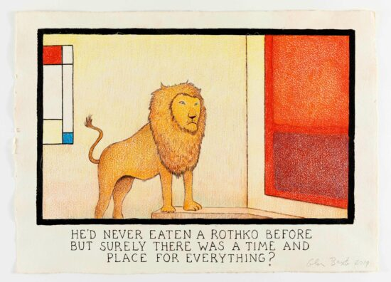 He'd Never Eaten A Rothko Before But Surely There Was A Time And Place For Everything?