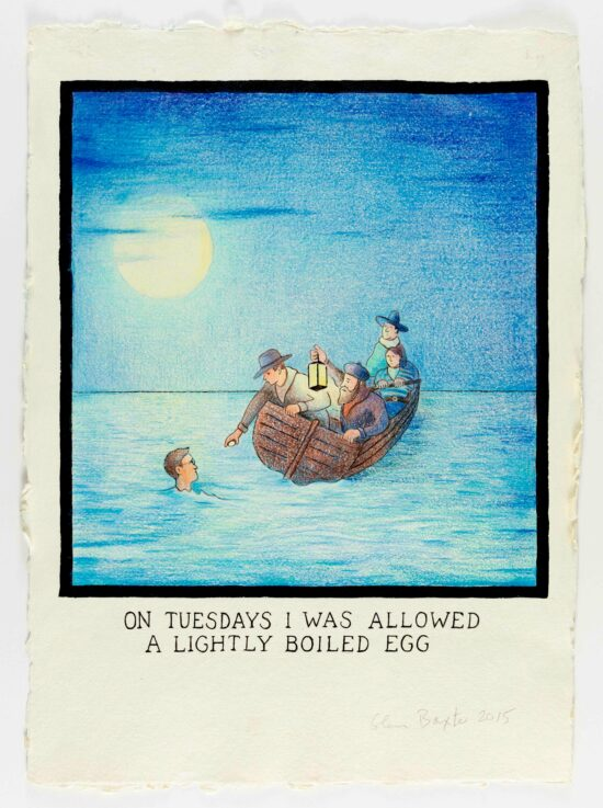 On Tuesdays I Was Allowed A Lightly Boiled Egg