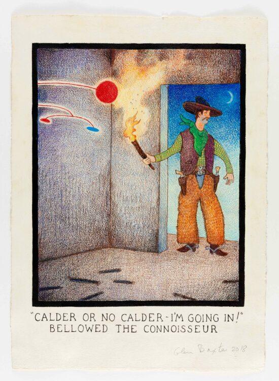 """Calder Or No Calder - I'm Going In!"" Bellowed The Connoisseur"