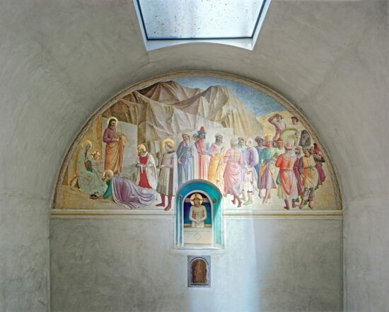 Adoration of the Magi and Man of Sorrows by Fra Angelico, Cell 39, Museum of San Marco Convent, Florence, Italy