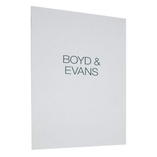 Boyd & Evans Exhibition Catalogue, 1991