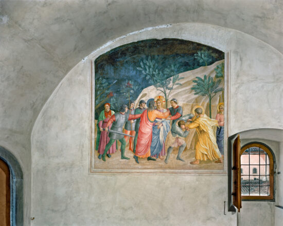 The Capture of Christ by Fra Angelico, Cell 33, Museum of San Marco Convent, Florence, Italy