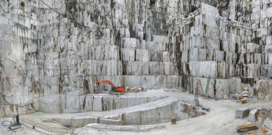 Carrara Marble Quarries #2, Canal Grande, Fantiscritti Basin, Carrara, Italy