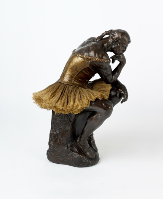 The Thinker, (after Rodin/Degas)
