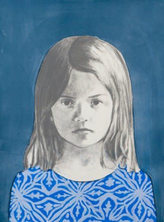 Girl 1, Blue
