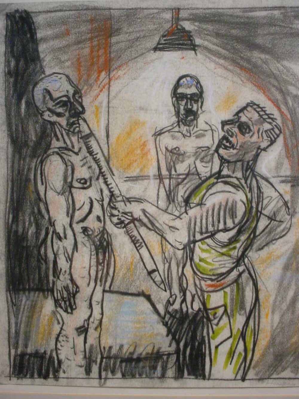 Peter Howson - Features in Radical Drawing