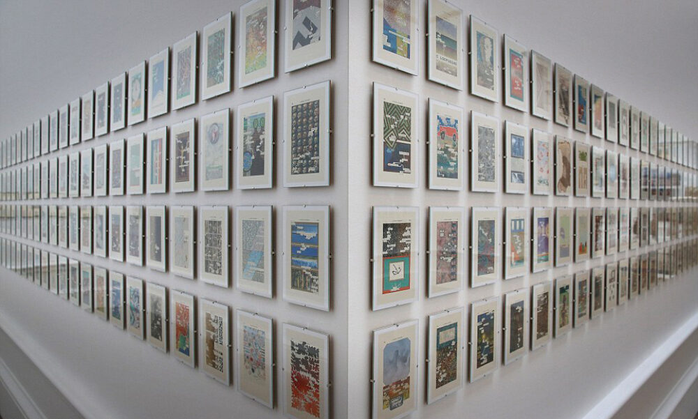 Tom Phillips - Gallery X at the Royal Academy Summer Exhibition