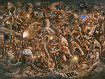 Peter Howson 'Prophecy' Opening Reception