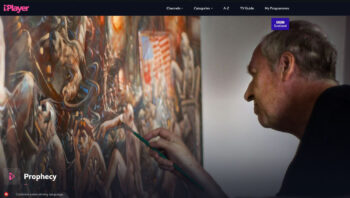 Peter Howson 'Prophecy' is now available via BBC iPlayer