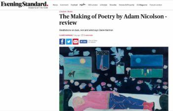 The Making of Poetry in the press