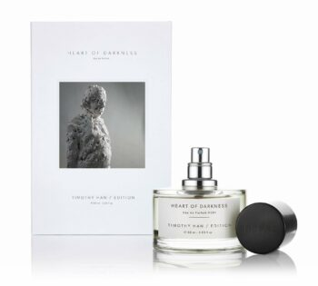 Perfumer Timothy Han collaborated with Nicola Hicks on new Edition fragrance, 'Heart of Darkness' launching this evening.