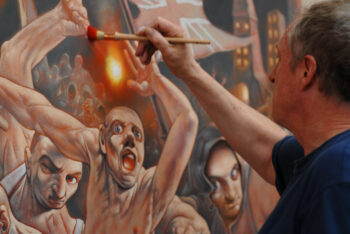 Peter Howson film Prophecy has its international premiere at Hot Docs Toronto
