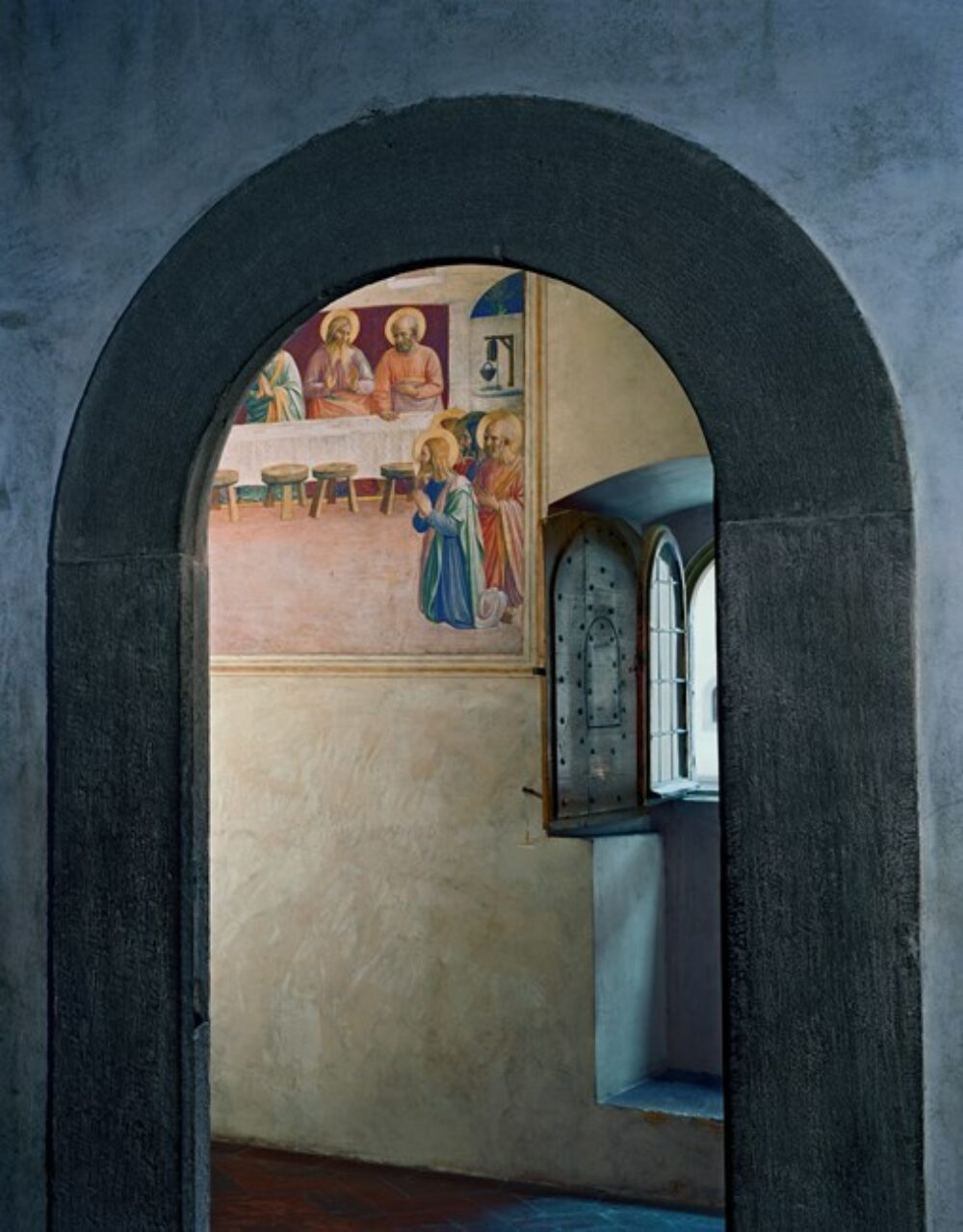 The Last Supper, or Communion of the Apostles by Fra Angelico, Cell 35, Museum of San Marco Convent, Florence, Italy