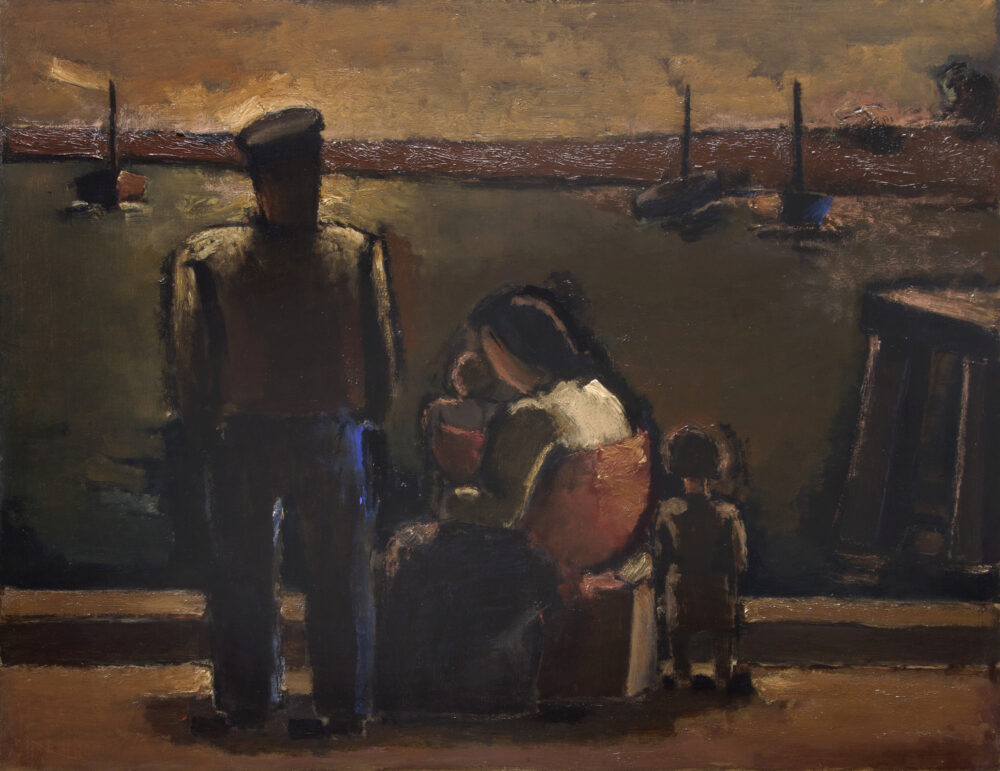 Fisherman with Family