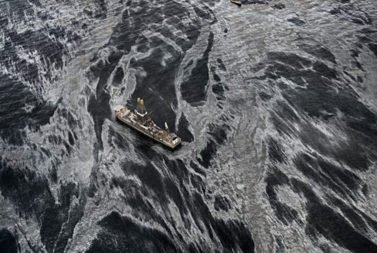 Edward Burtynsky - Oil - Gulf Oil Spill & Pentimento