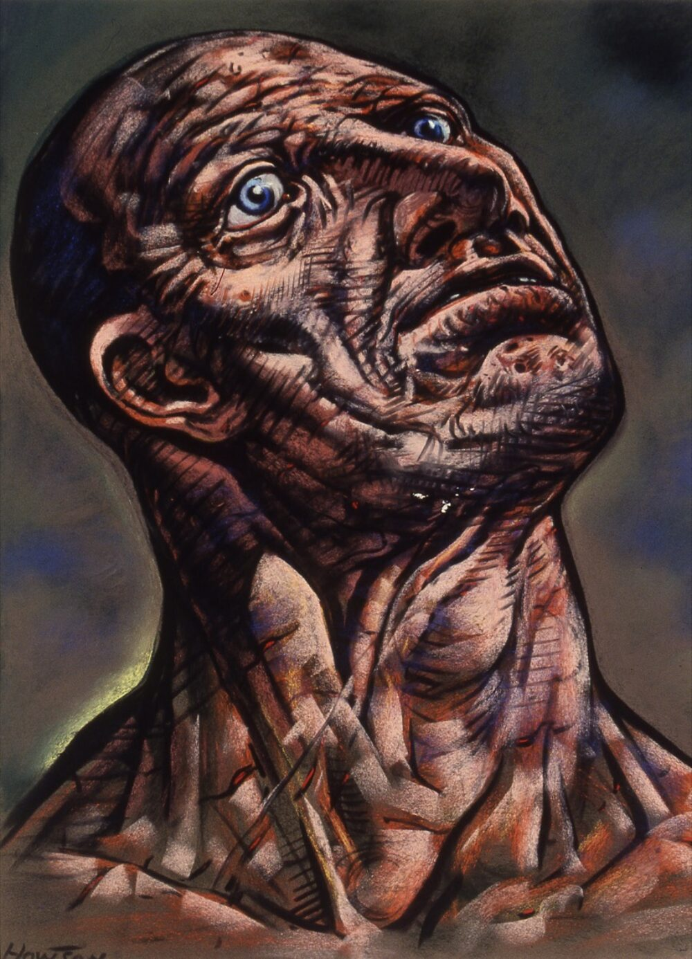 Peter Howson - at Flowers Central